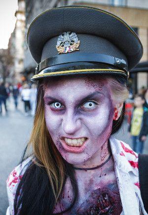 Imagenes De Maquillaje De Zombie