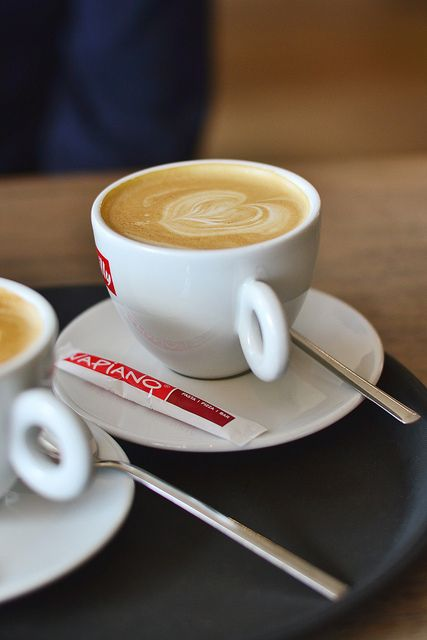 Morning Coffee At Vapiano Different Coffee Drinks Coffee Cafe Coffee Fan