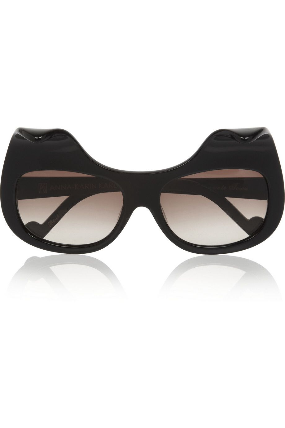 ANNA-KARIN KARLSSON When Trouble Came To Town square-frame acetate sunglasses $665.00 http://www.net-a-porter.com/products/413481