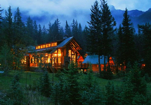 Best Cabins In The Canadian Rockies! Cathedral Mountain Lodge Offers Luxury  Cabins In Yoho National