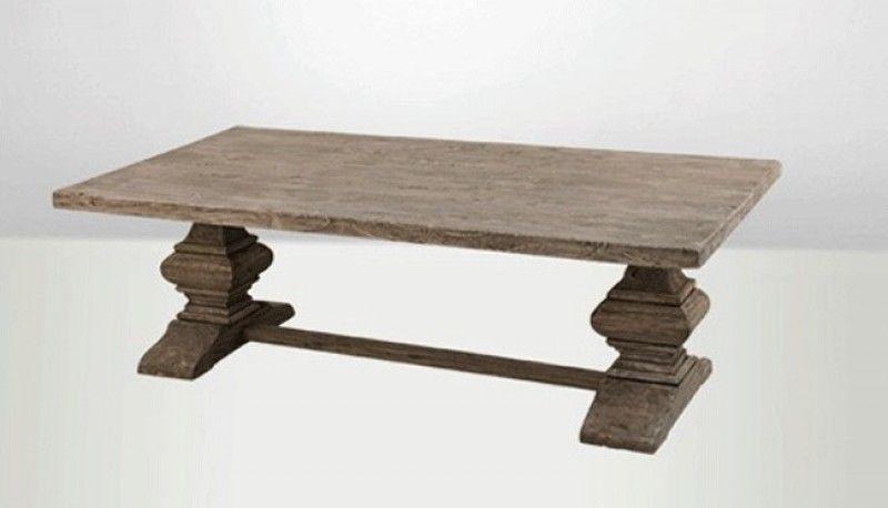 table basse, bois, pin, chêne, recyclé, monastère, pieds, piétement