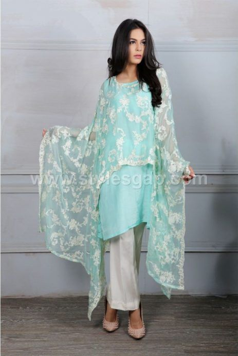 Latest Pakistani Cape Style Dresses 2020 2021 Top Designer