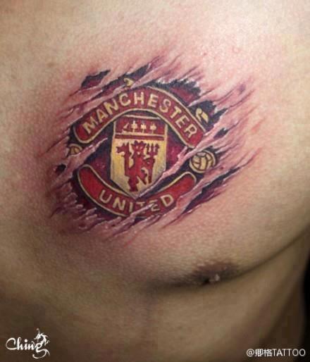 Manchester United Tattoos Madscar Man Utd Tattoo Manchester United Manchester United Fans