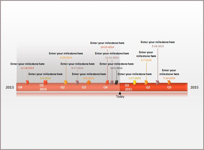 24+ Timeline Powerpoint Templates u2013 Free PPT Documents Download - powerpoint timeline