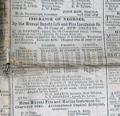 Insurance On Negroes African American History History Black