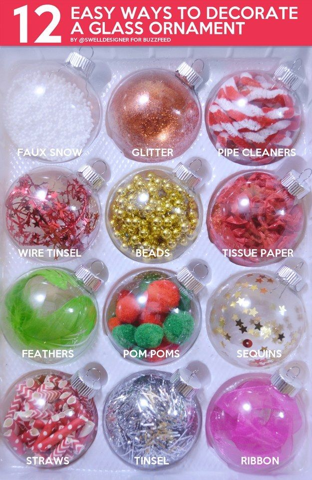 community post 12 easy ways to decorate a glass ornament