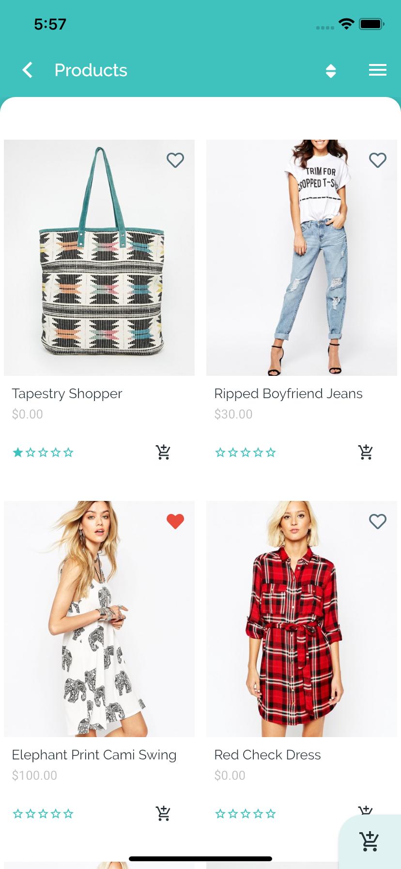 Fluxstore Pro - Flutter E-commerce Full App   design idea