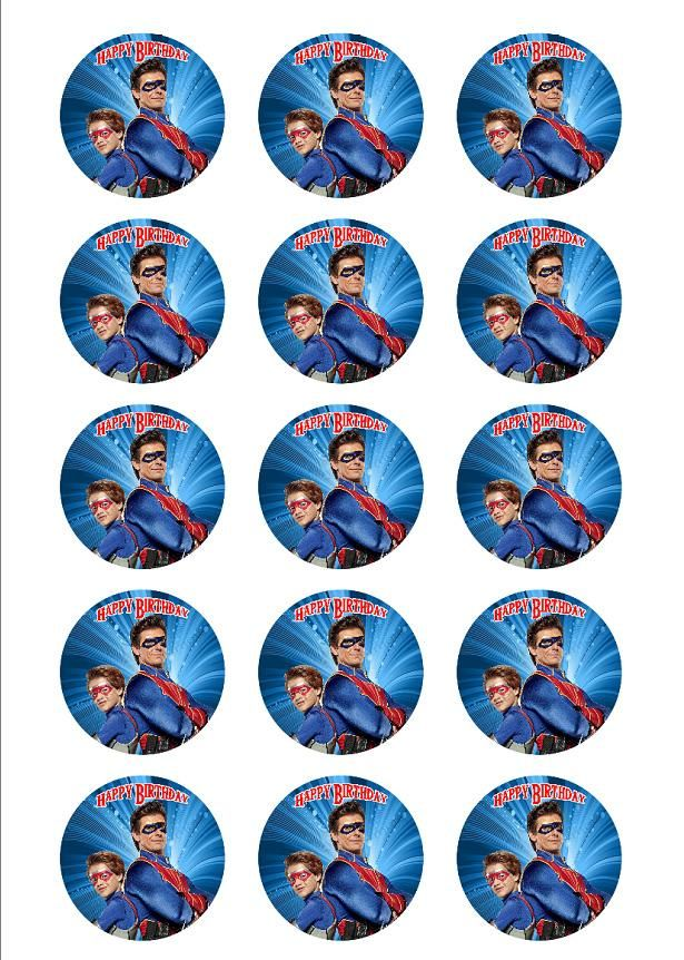 Henry Danger Personalized Edible Print Premium Cake Topper Frosting Sheet 5 Size