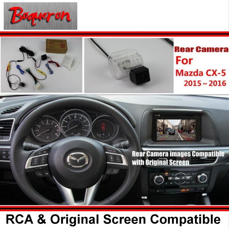 Back Up Reverse Camera For Mazda Cx 5 Cx 5 Cx5 2015 2016 2017 Rca Original Screen Display Compatible Rear View Parking Mazda Rear View Camera Parking Camera