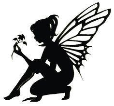 free silhouette clip art fairy silueta hadas and enamorado on rh pinterest com free fairy clipart in black & white free fairy clip art green thumb