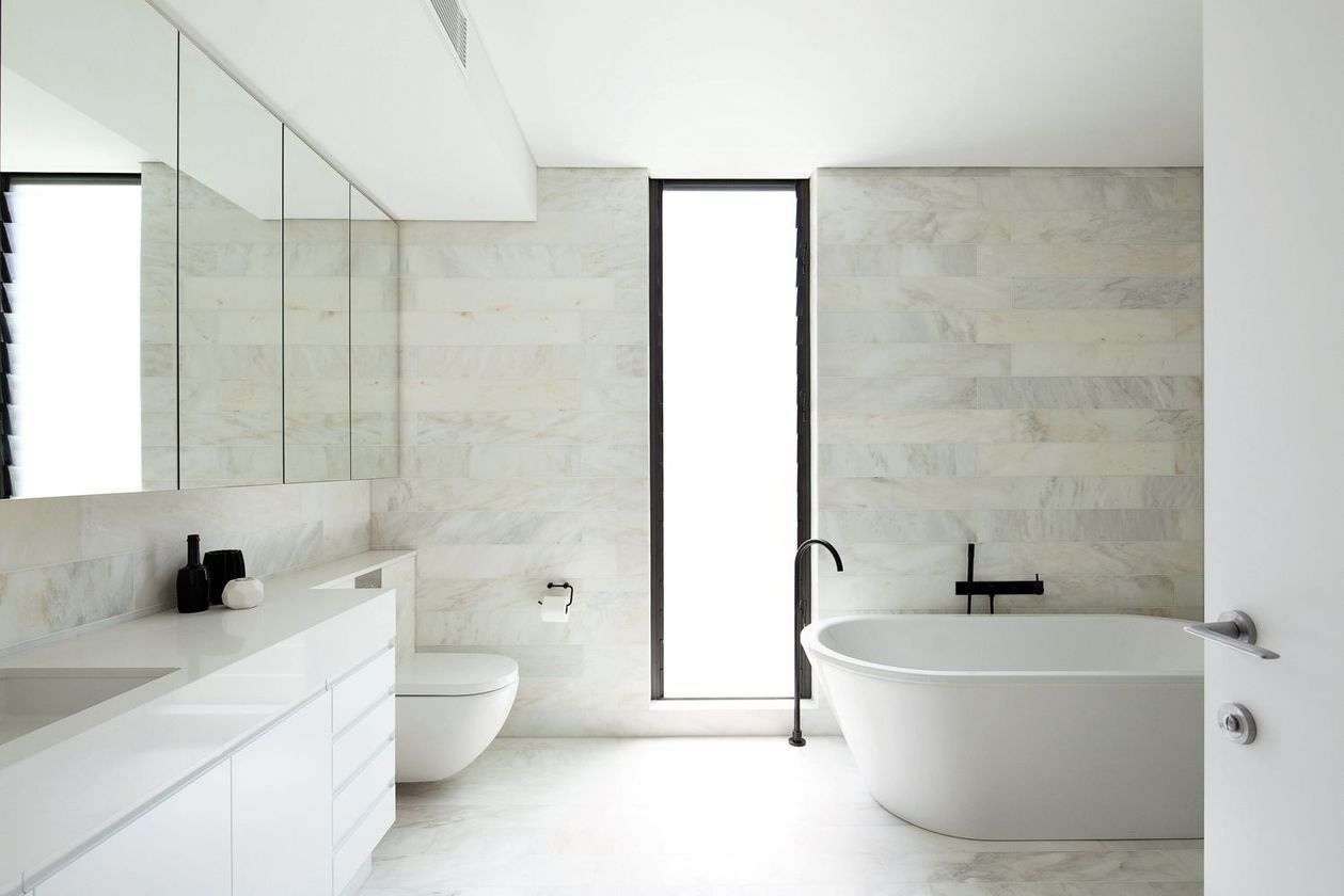 Nice 55 Delightful Bathrooms Design Ideas In Australia More At Https Decoratrend Com 2019 05 30 5 Bathroom Design Small Bathroom Design Bathroom Renovations
