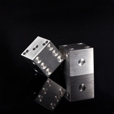 Precision Machined Dice 3 4 Solid Stainless Steel With Images