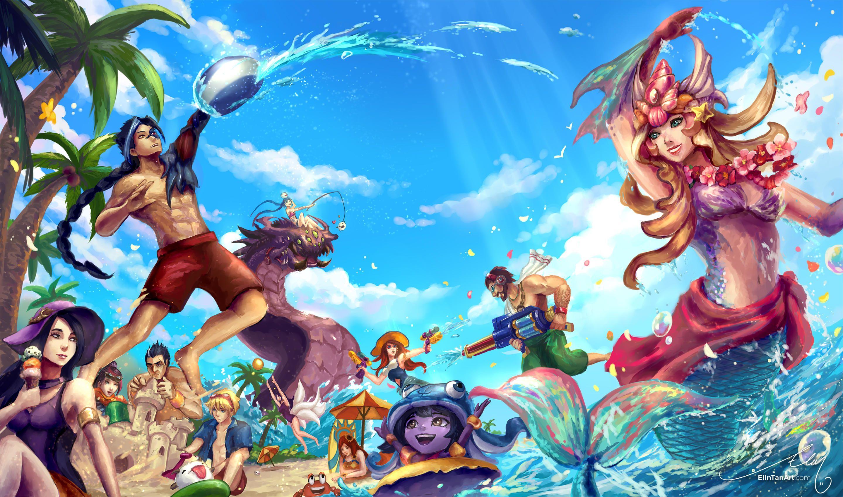 Summer Splash by ElinTan Cosplays, Arte