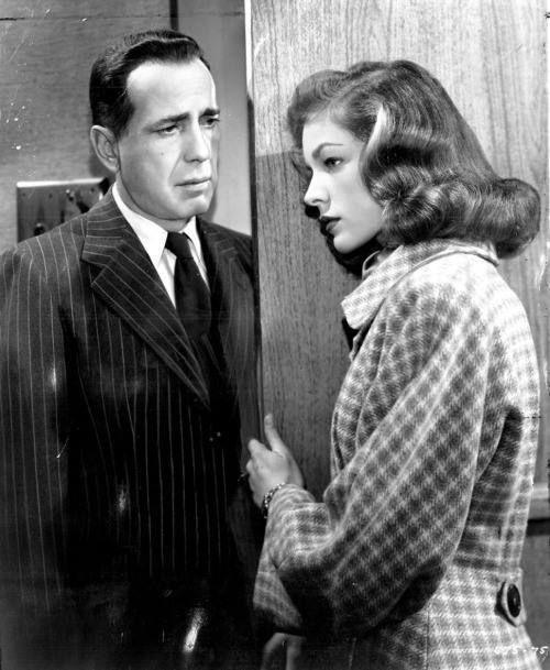 "Humphrey Bogart and Lauren Bacall in ""Dark Passage"
