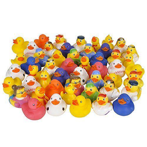 Mallard Eggs In Backyard Island Party Cats: Lot Of 50 Assorted Rubber Ducks [Toy], Http://www.amazon