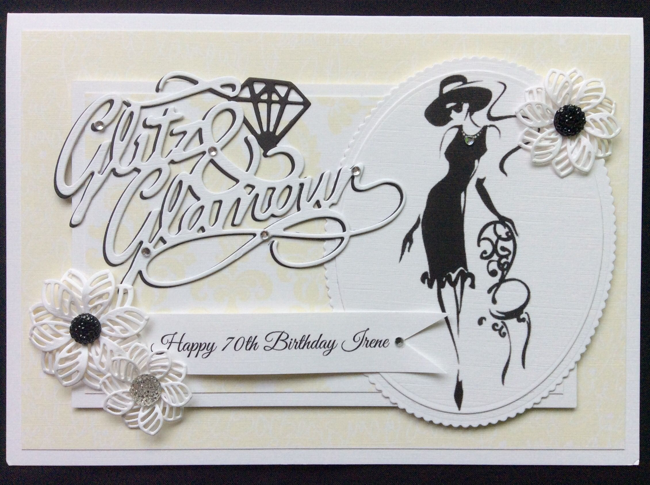 Order Code 021703 A Bit Of Glitz And Glamour For This 70th Birthday