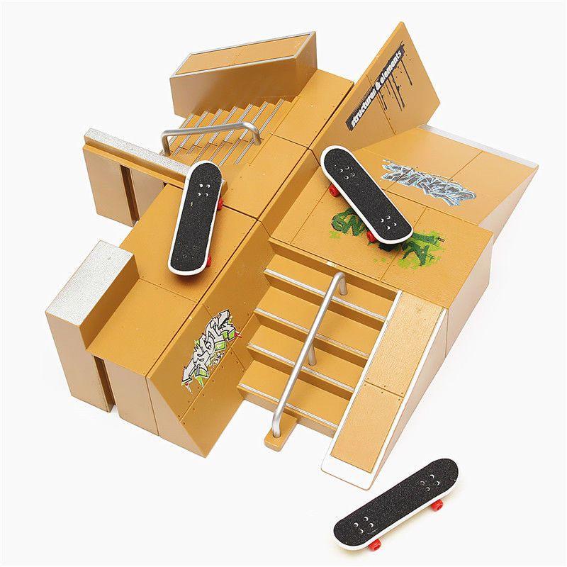 Skate Park Ramp Parts Tech Deck Fingerboard Finger Board Ultimate Parks Gifts