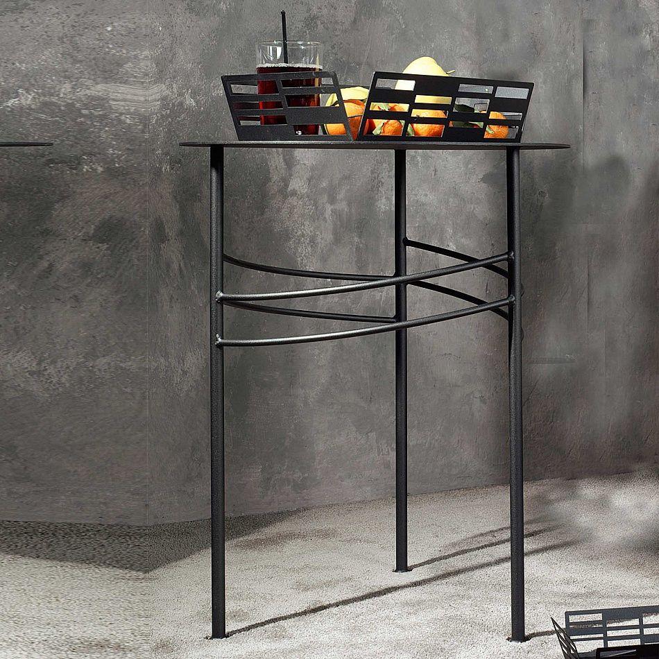 Slimline metal narrow side table ariel by cosatto side lamp tables pinterest - Consola estrecha ...