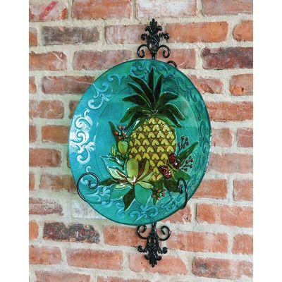 Pineapple Bird Bath