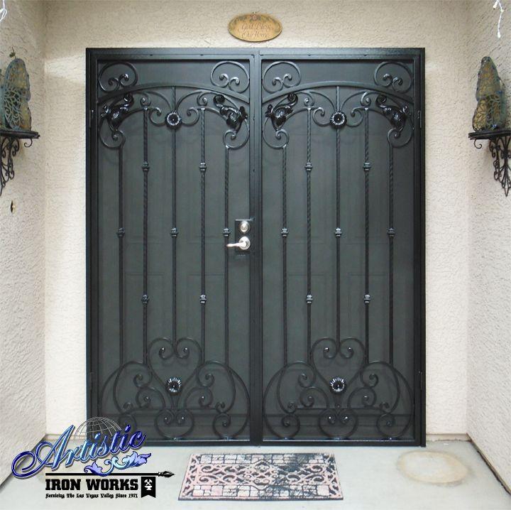 Cappella Iron Security Screen Door Fd0036a Wrought Iron Security Doors Security Door Wrought Iron Doors