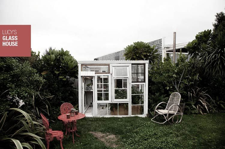 Lucy's glasshouse