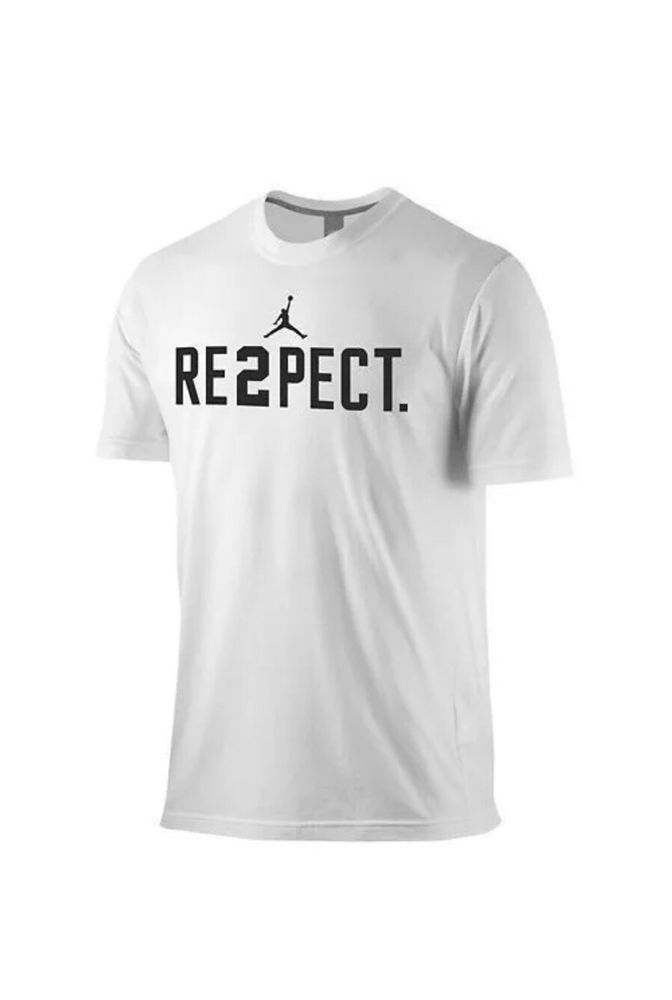 b2395bc7600e Nike Air Jordan Derek Jeter RE2PECT T-Shirt White NWT Sz Small 708586-100   Nike  BasicTee