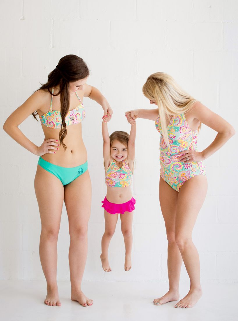 4417eec9890ad Check out our adorable matching mommy and me bathing suits!! BUY YOURS HERE