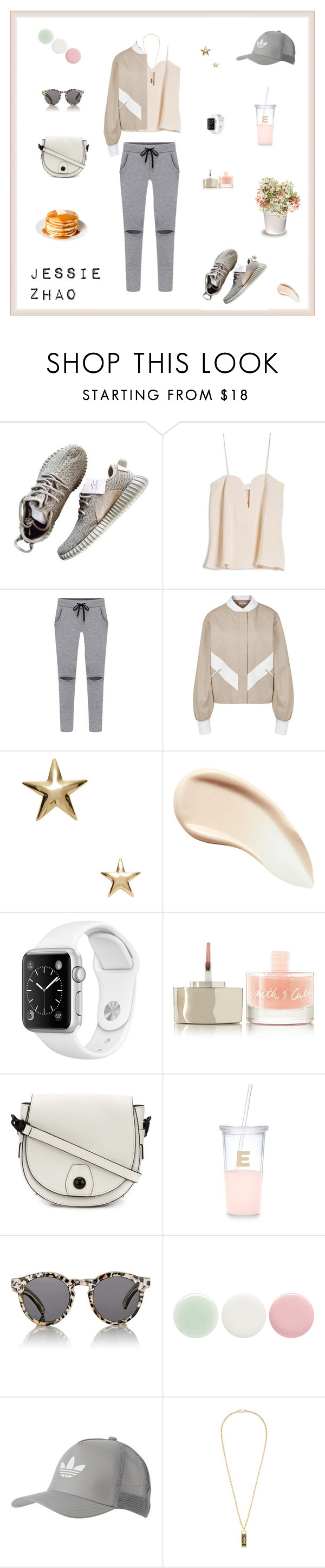 """Untitled #247"" by jesszzz on Polyvore featuring OTTE, Adeam, Kenneth Jay Lane, Burberry, Smith & Cult, rag & bone, Kate Spade, Illesteva, Nails Inc. and adidas Originals"