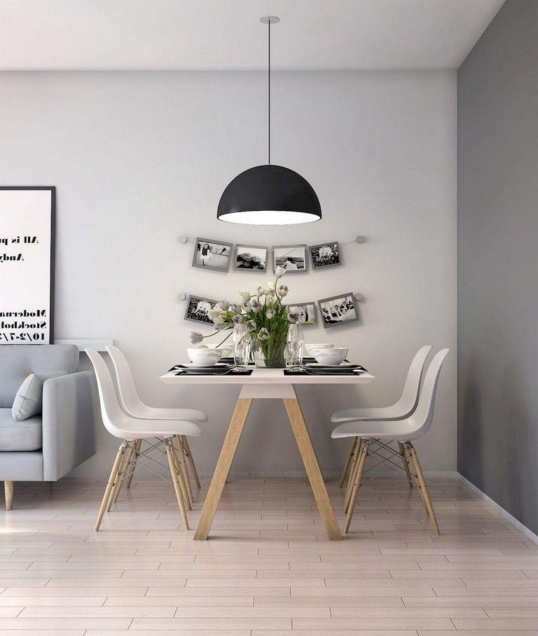56 Stunning Modern Scandinavian Living Room Designs Dining Room