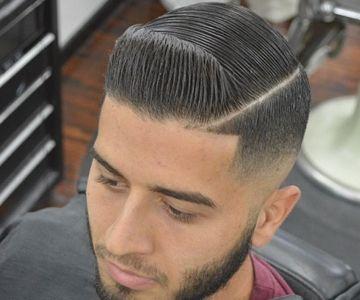 Men S Room Cancun Barbershop Fade Haircut Fade