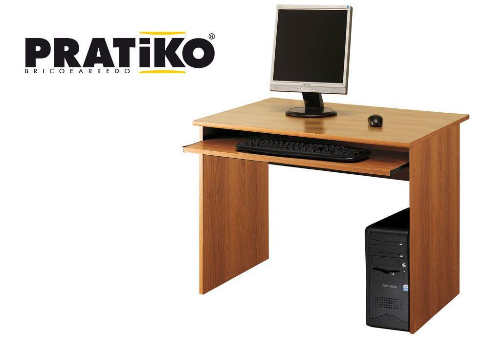 Scrivania Ufficio Porta Pc : Scrivania porta pc ufficio portatastiera xh cm color noce