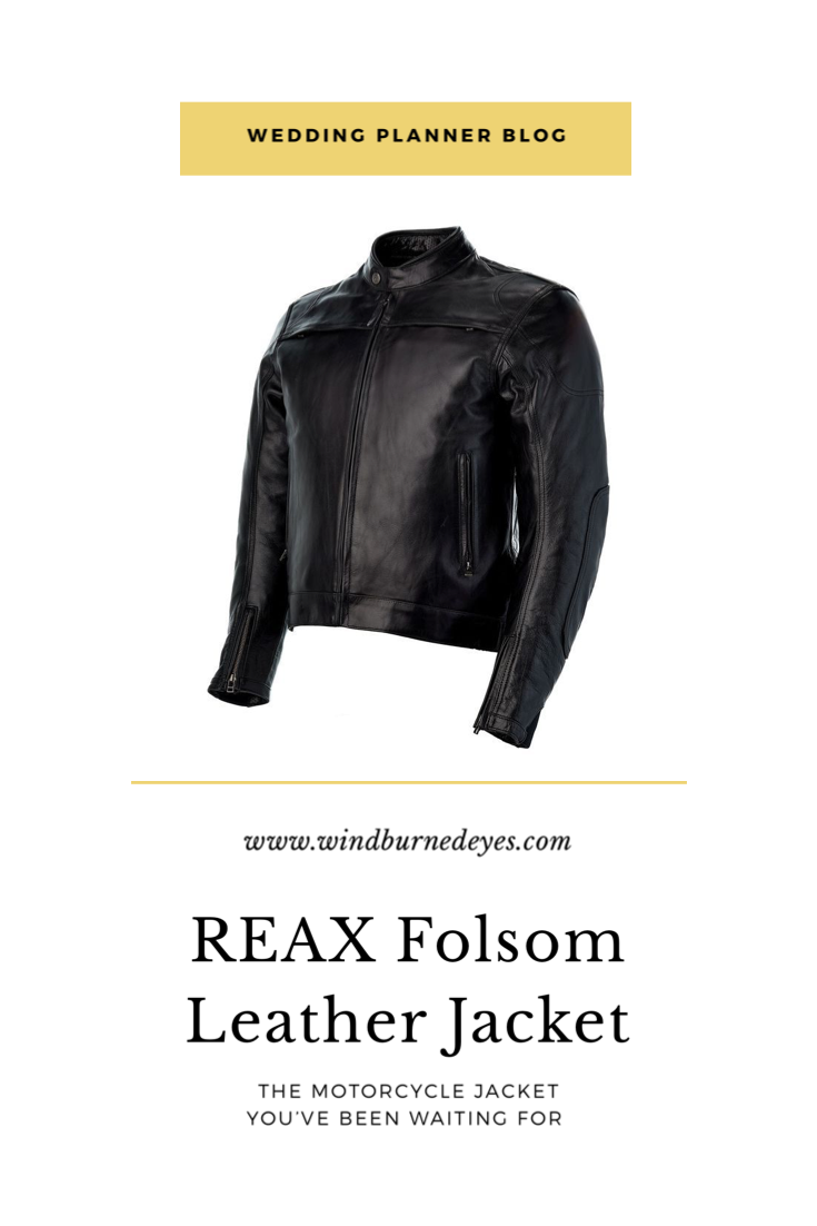 REAX Folsom Leather Jacket The REAX leather motorcycle jacket has some fantastic features and looks as stylish and sleek as you could want