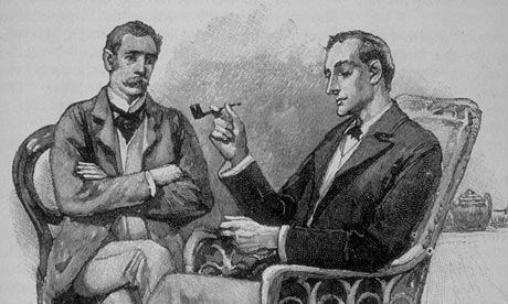 Sherlock Holmes Sidney Pagets Original 1891 Illustration Of And Watson Strand Magazine Photo Graph Time Life Pictures Getty Images