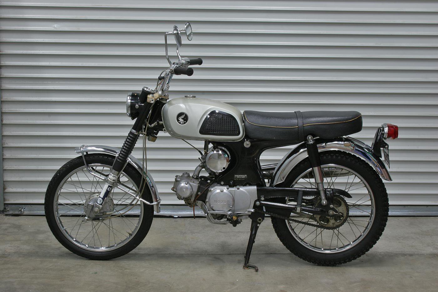 Sweet! 1967 Honda CL90 Motorcycle - Hughes Estate Sales: $5,000/OBO, One owner 1967 Honda CL90 Motorcycle with 2,809 original miles.