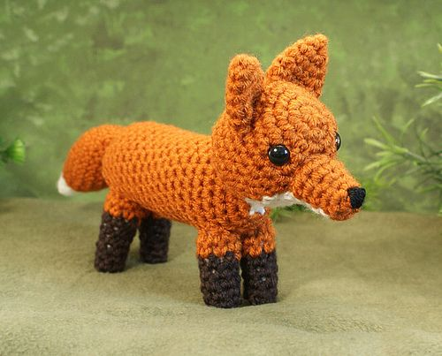 PDF Red Fox amigurumi CROCHET PATTERN