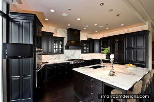 Dark Hardwood Floor In The Kitchen Ideas For A Present Day Seems To Be