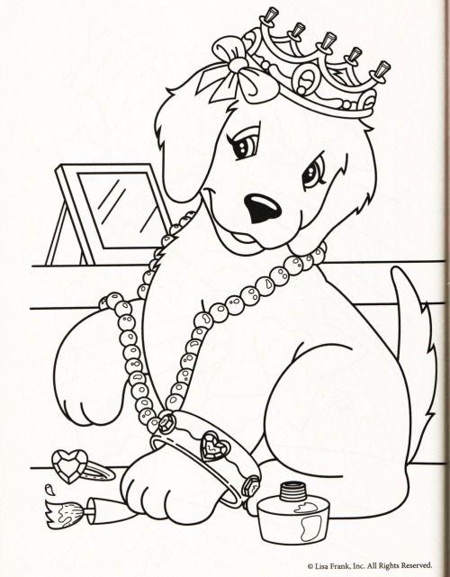 Quatang Gallery- Kleurplaat Hond Kroon Kleurplaten Kleurplaten Voor Kinderen Honden