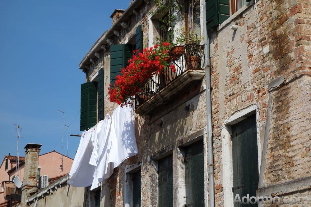 Nice balcony in Madonna dellOrto