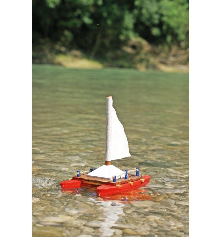kit veleiro de madeira - Madeira Game - brinquedos de madeira duráveis