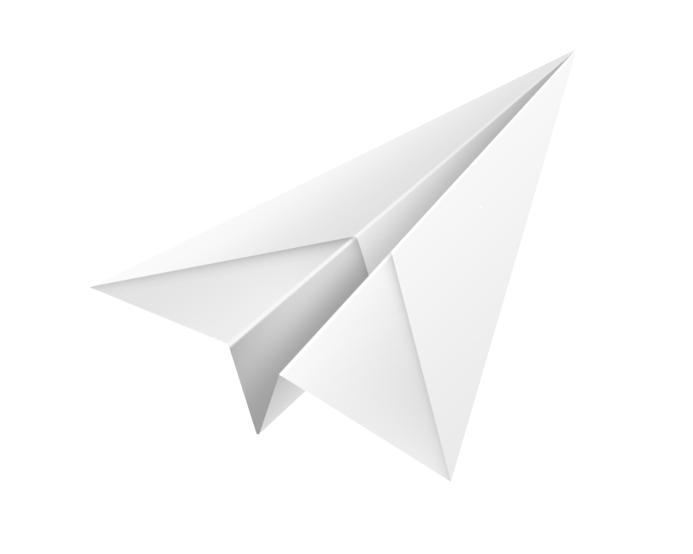 White Paper Plane Png Image Paper Plane Paper Glider Origami Star Box