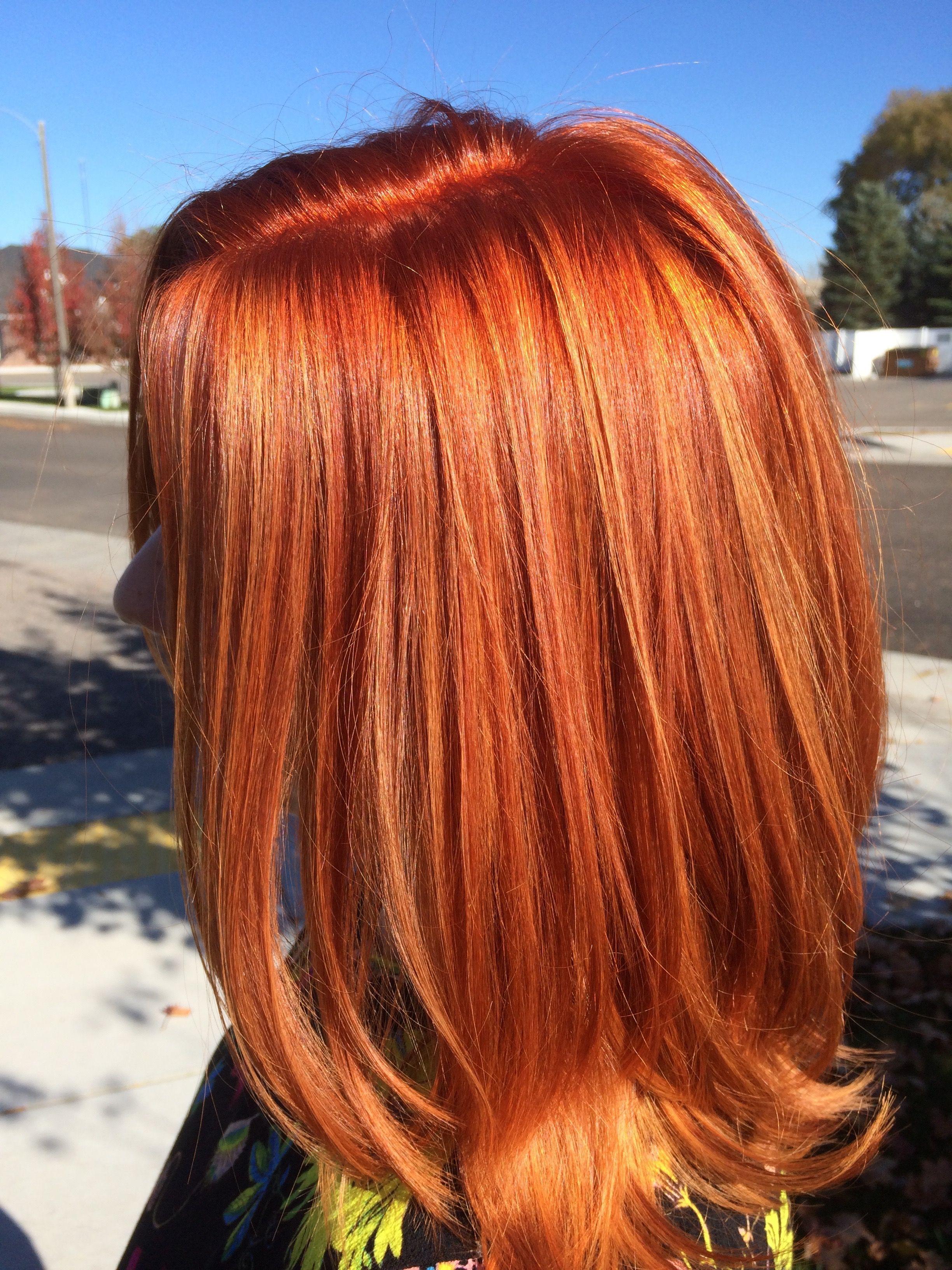 Red Hair Redhead Balayage Copper Hair Styles Hair Red Hair