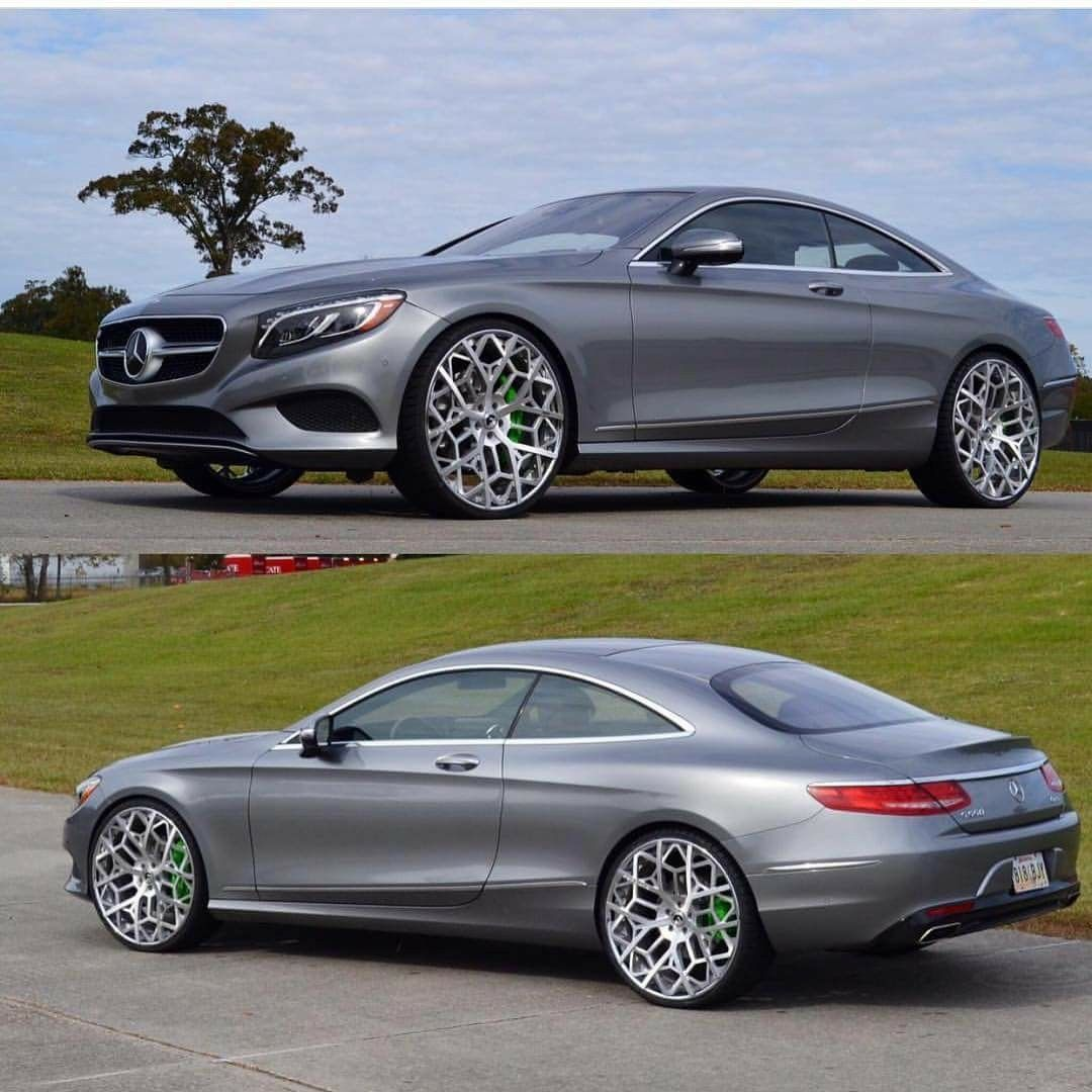 "Mercedes Benz S550: Set Of Forgiato Murrati-ECL Wheels In Brush Finish. 24"" On"