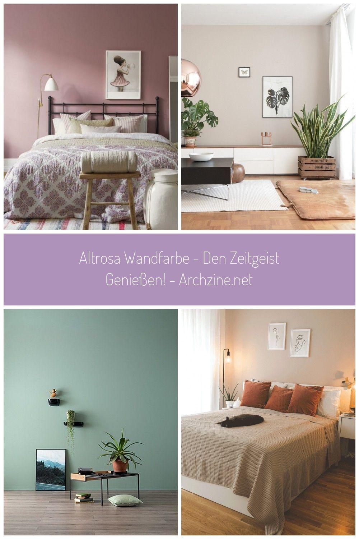 Altrosa Wandfarbe Fur Die Vintage Wandgestaltung Im Schlafzimmer Zimmer Wandfarbe Altrosa Wandfarbe Den Zeitgeist Geniessen Archzine Net Em 2020 Cores