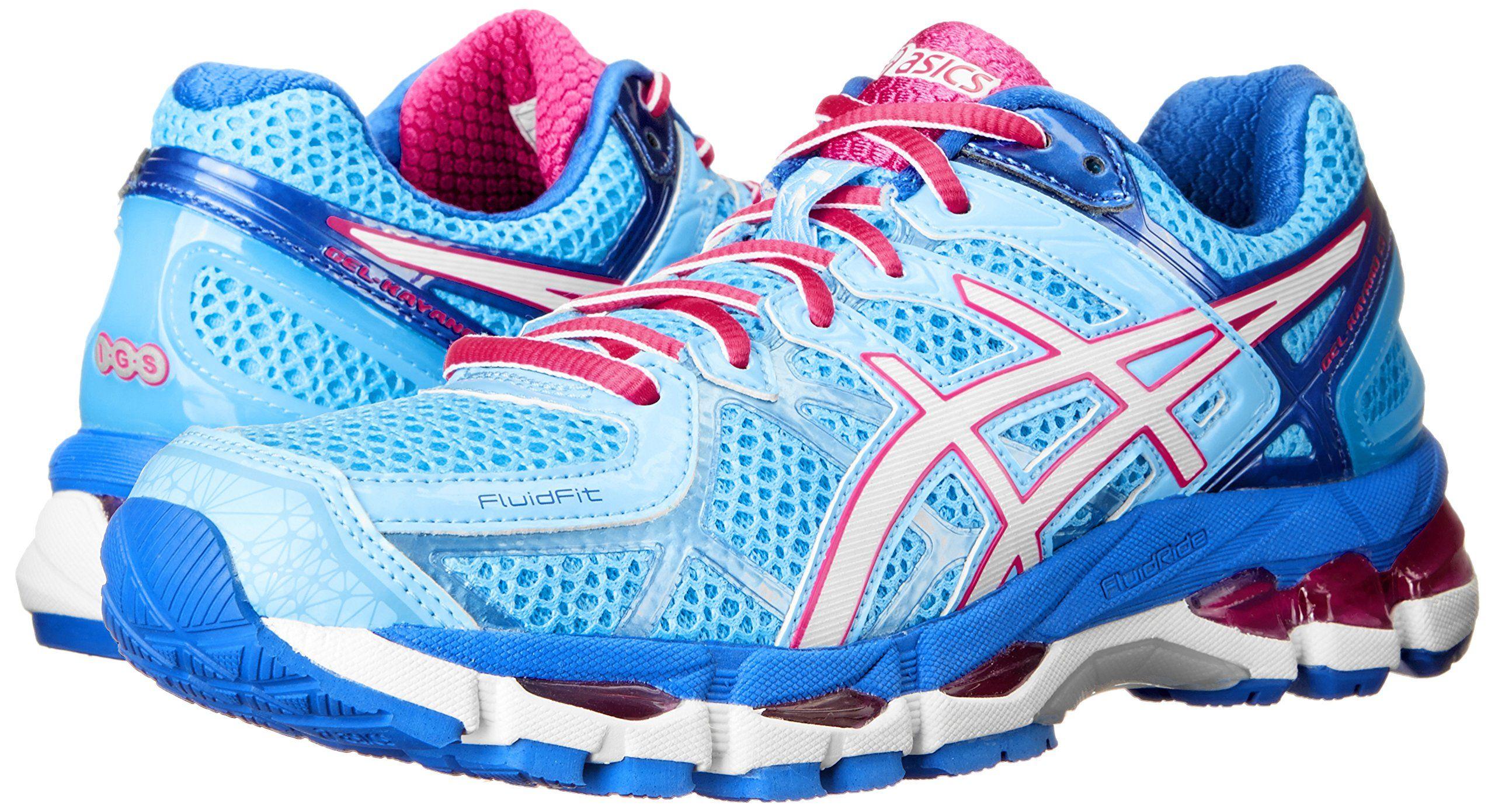 ASICS Women's Gel kayano 21 Running Shoe, Powder BlueWhite