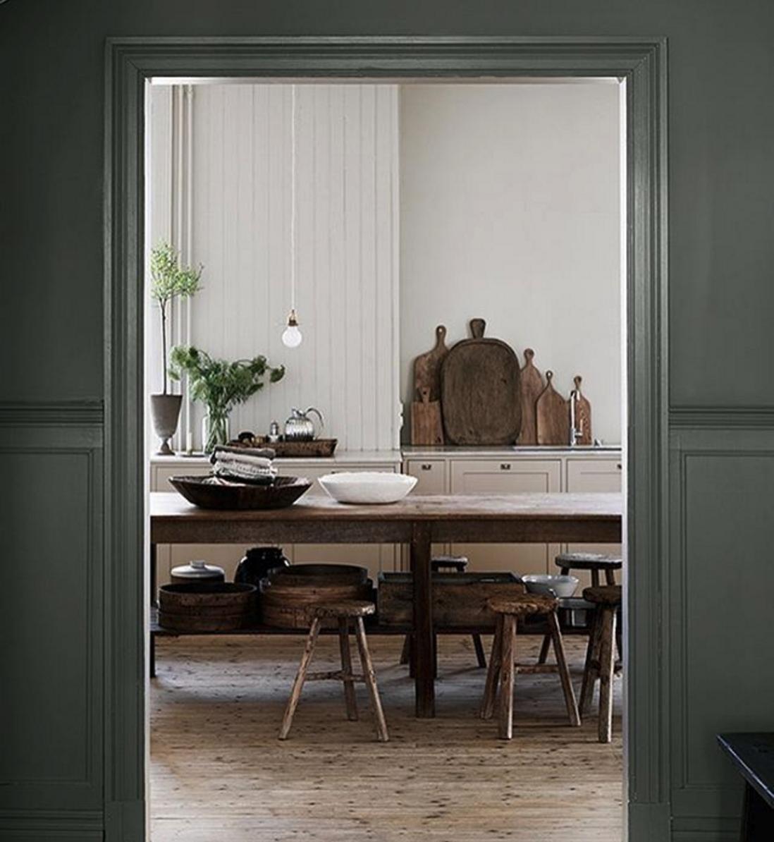 Naturfarben In Der Wohnung: Inspiration Für Einrichtung Im Esszimmer