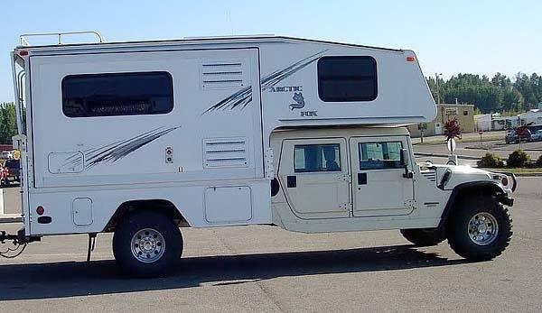 Hummer Truck Camper Truck Campers Pinterest Camper