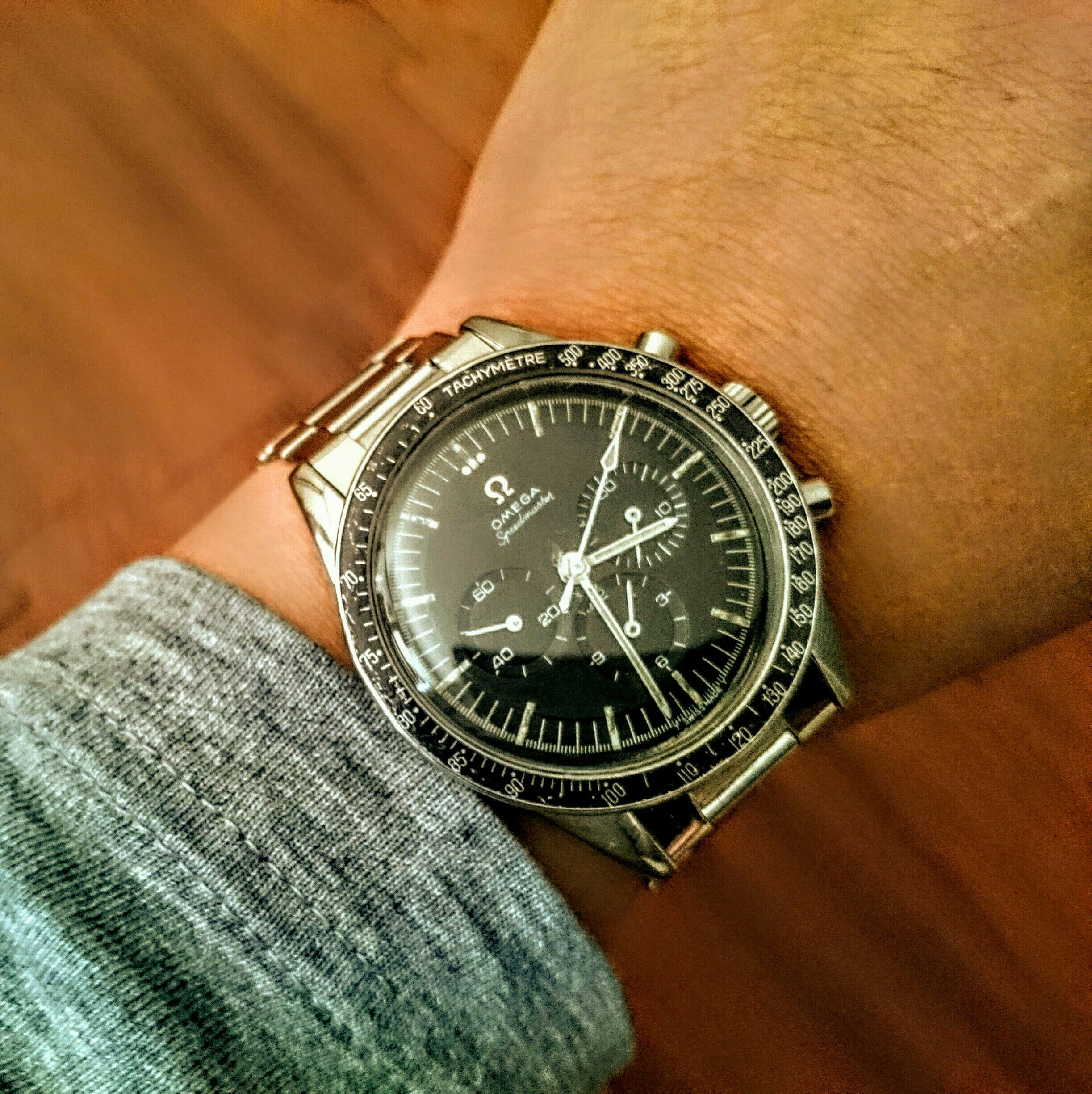 Giving Ed White some wrist time #vintage #omega #speedmaster #moonwatch #chronograph www.watchvaultnyc.com #watchforsale #watchporn