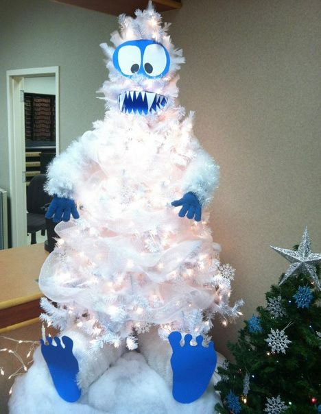 Ten Character Themed Christmas Trees With Festive