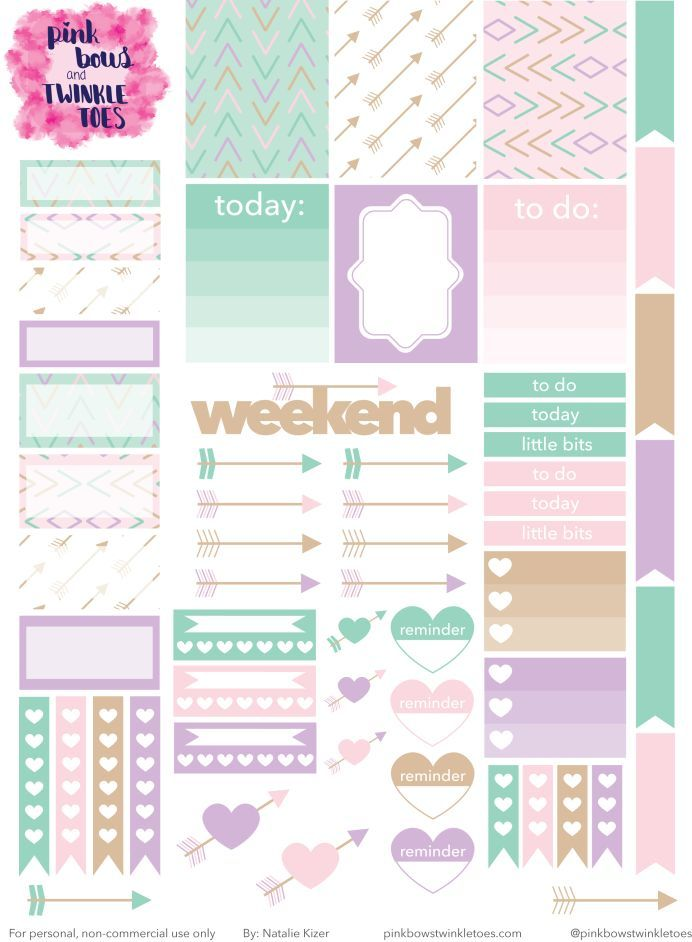 Checkmarks//Asterisks Planner//Diary//Scrapbooking Stickers