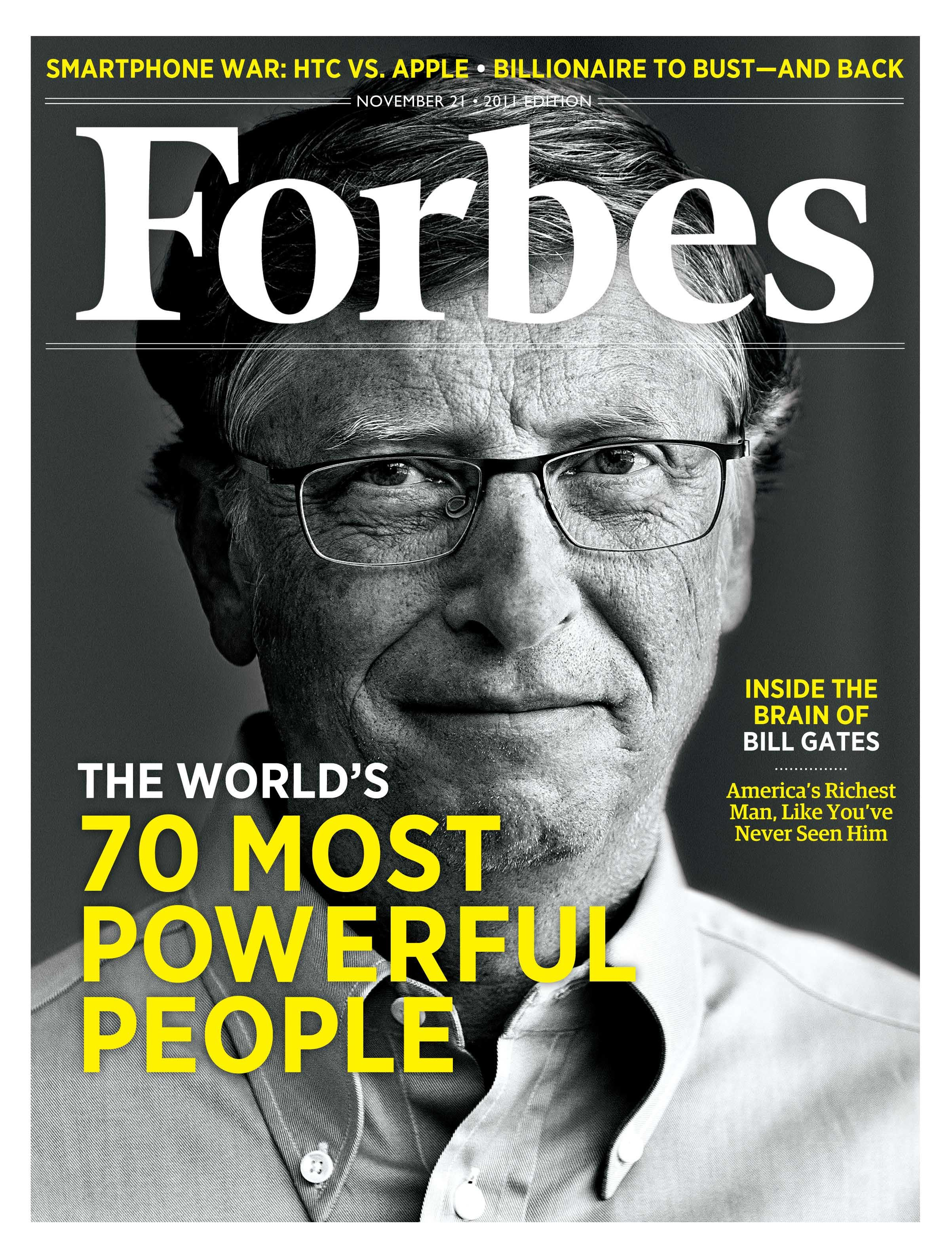 November 21, 2011 With Vaccines, Bill Gates Changes The World